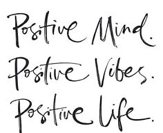 Having a positive MIND can help create positive VIBES which can result into living a positive LIFE! #layop #positivity www.layop.com