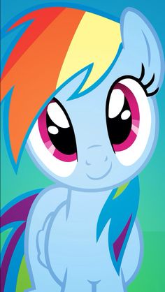 MLP. Rainbow wallpaper.                                                       …