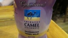 06/02 - #fusionfoods Camel milk from ME hitting trendy UK cafes (Camelatte and Camelccino). Currently served in Taylor Street Baristas in Brighton and London's Bank area, in aid of Farm Africa.