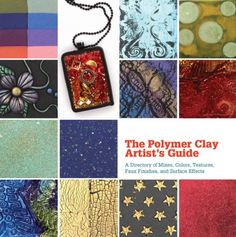 The Polymer Clay Artist's Guide: A Directory of Mixes, Colors, Textures, Faux Finishes, and Surface Effects by Marie Segal http://www.amazon.com/dp/1770852077/ref=cm_sw_r_pi_dp_dJL8tb1WR4HG1