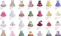 these dresses are so pretty for little girls! I love my daughters in pretty little dresses! cute summer sun dress for kids