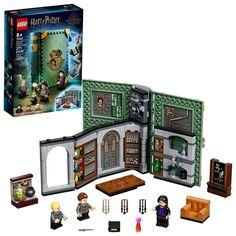 Lego Harry Potter, Harry Potter Movies, Harry Potter Hogwarts, Lego Hogwarts, Paw Patrol Rocky, Draco Malfoy, Legos, Buch Design, All Lego