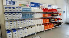 Plastex myymäläkonseptia 2016