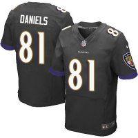 #81 Owen Daniels Baltimore Ravens Elite Jersey