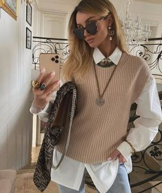 On point 👌 Adrette Outfits, Casual Fall Outfits, Winter Fashion Outfits, Classy Outfits, Casual Dresses For Women, Autumn Fashion, Clothes For Women, Fall Clothes, Dress Casual