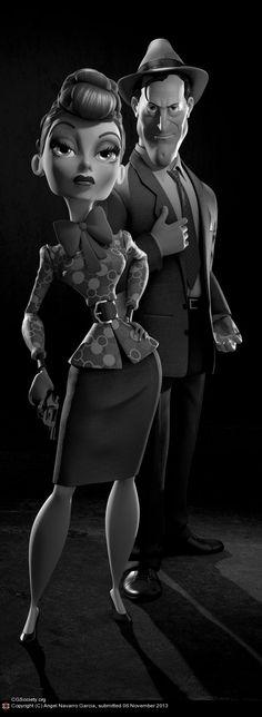 'Kirk & Lucy' de Angel Navarro García