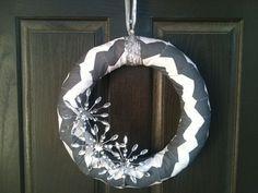 Winter Wonderland Wreath by PolkadotsOriginals on Etsy,