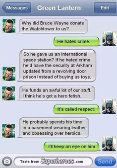"""""""Wearing leather and obsessing over heroics"""" yeah, sounds about right"""