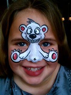 Pick your nose polar bear