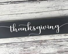 handmade wood signs & home decor by SignsbyJen on Etsy Thanksgiving Signs, Wood Signs Home Decor, Etsy Seller, Unique Jewelry, Handmade Gifts, Fall, Ideas, Kid Craft Gifts, Autumn