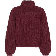 Chloé Silk, mohair and wool-blend turtleneck sweater