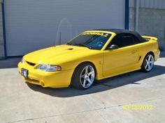 1998 mustang cobra convertible