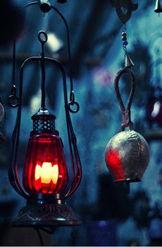 Lantern and chimes Source: sufiyana