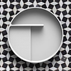 SaphirKeramik tray by Konstantin Grcic for Laufen