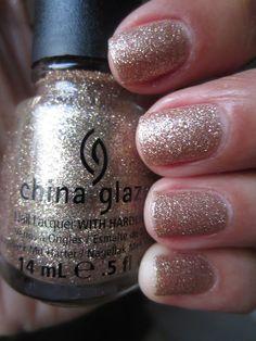 China Glaze Champagne Kisses