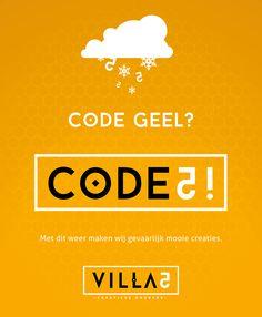 Van #codegeel naar #code5! Gevaarlijk mooie creaties.