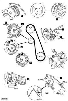 Ford Focus Engine Belt Diagram Ford Focus Engine Belt
