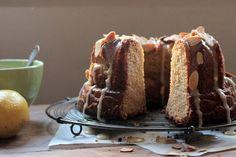 Lemon Frangipane Bundt Cake #BundtaMonth - Vintage Kitchen
