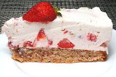 ChocoLanas matblogg: Mandelbunn med jordbærmascarponekrem