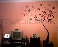 Картинки по запросу adornos para las paredes con arboles