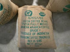 The first coffee ever exported to America from Baliem Valley, Papua