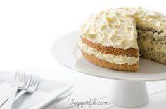 Veggieful: Vegan Orange and Poppy Seed Cake Recipe