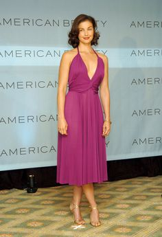 Ashley Judd: the carpet is not red, but she is just gorgeous, smart, lovely, smart, warm and has so much depth. A real star.