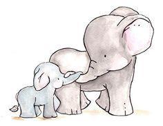 Twinkle twinkle little star archival print elephant nursery childrens art kids room decor kids wall art child decor baby art Kids Room Art, Art Wall Kids, Art For Kids, Playroom Art, Baby Elefant, Art Mignon, Elephant Art, Baby Elephant Drawing, Elephant Drawings