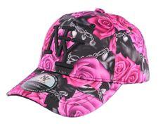 Casquette Enfant Noire et Rose Florale de 7 à 11 ans #mode #enfant #fashion #casquette #casquetteenfant #streetwear #casquetteNY