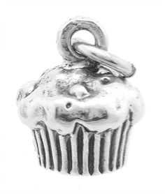 Sterling Silver Delicious Cupcake with Icing Charm ** Find out more about the great product at the image link.
