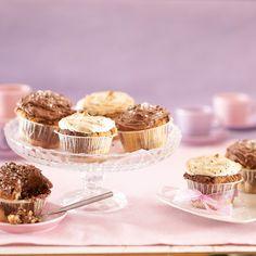 Tiikerikuppikakut eli kuorrutetut muffinit | K-ruoka #ystävänpäivä