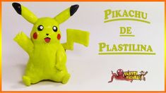 Como Hacer a Pokémon Pikachu de Plastilina/How To Make  Pokémon Pikachu ...