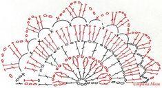 Crochet Earrings Pattern, Crochet Motif Patterns, Crochet Diagram, Crochet Chart, Crochet Stitches, Knit Crochet, Crochet Bunting, Crochet Garland, Crochet Doilies