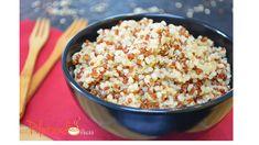 Vem ver como cozinhar a quinoa, um grão que vale ouro! É saboroso, fácil de preparar, muito saudável e você pode criar inúmeras variações. Vem ver!