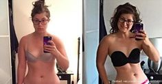 Photo Gallery: WOW! This Personal Trainer Used A Simple Trick To Demonstrate How Misleading #Fitspo Selfies REALLY Are