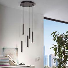 SKAPETZE -    Tube / LED-Hängeleuchte im stilvollen Design / 5-flammig Innenleuchten Hängeleuchten