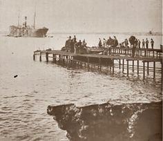 Cargadero de mineral de Almería (principios del siglo XX)