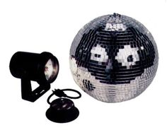 American Dj Mb8 Combo 8 Inch Mirror Ball Kit With Battery Powered Motor  $30