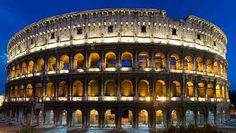 The Colosseum, Rome. Breathtaking when you are inside. The thought of what went on makes your spine tingle.