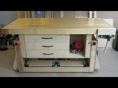 The ultimate woodworking workbench, YouTube