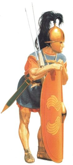 Late Roman Republican Legionary by Peter Connolly (Roman Military Costume/user: Aethon)