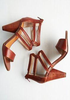 Seychelles Have I Got News Heel | Mod Retro Vintage Heels | ModCloth.com