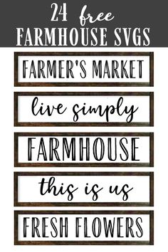 Free Fonts For Cricut, Cricut Svg Files Free, Cricut Images Free, Free Svg Fonts, Free Fonts Download, Farmhouse Font, Farmhouse Signs, Farmhouse Ideas, Cricut Explore Projects