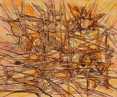 Jimmy Ernst - untitled -1952