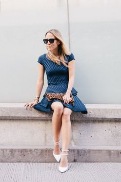 Seamless Pairings: Jacey Duprie shines in blue on blue featuring @INTERMIX and @Zara Lamey #OOTD - See more at: http://www.fashionindie.com/post/sea-of-blue_1378826591#sthash.EX8Qyhhp.dpuf @damselindoir #fashion #blogger