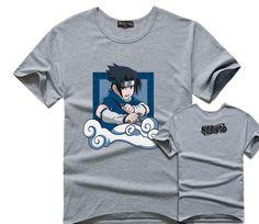Uchiha Sasuke Short Sleeve T-Shirt (5 Prints) //Price: $0.00 & FREE Shipping //    #anime #otaku #manga #animegirl