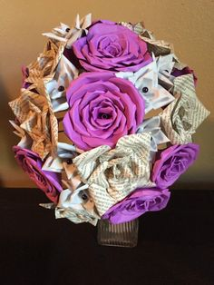 Hey, I found this really awesome Etsy listing at https://www.etsy.com/listing/254757731/pride-and-prejudice-paper-flower