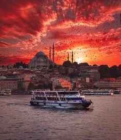 turkey travel Grntnn olas ierii: gkyz, bulut, ak hava ve su - Bulgaria, Wonderful Places, Beautiful Places, Turkey Photos, Travel Route, Hagia Sophia, Turkey Travel, Travel Goals, Beautiful World