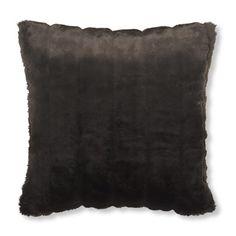 Williams-Sonoma Faux Fur Pillow Cover, Mink #williamssonoma