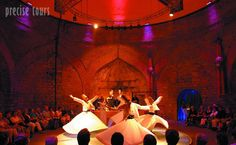 The Mevlevi Sema Ceremony in Istanbul. Whirling Dances, Dervishes and Sufi Music by Precise Tours. Istanbul Tours, Istanbul Turkey, Sufi Music, Whirling Dervish, Turkey Travel, Arabian Nights, City Break, Trance, Places To See